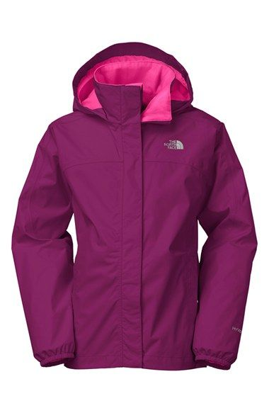 The North Face 'Resolve' Jacket (Little Girls & Big Girls) available at #Nordstrom