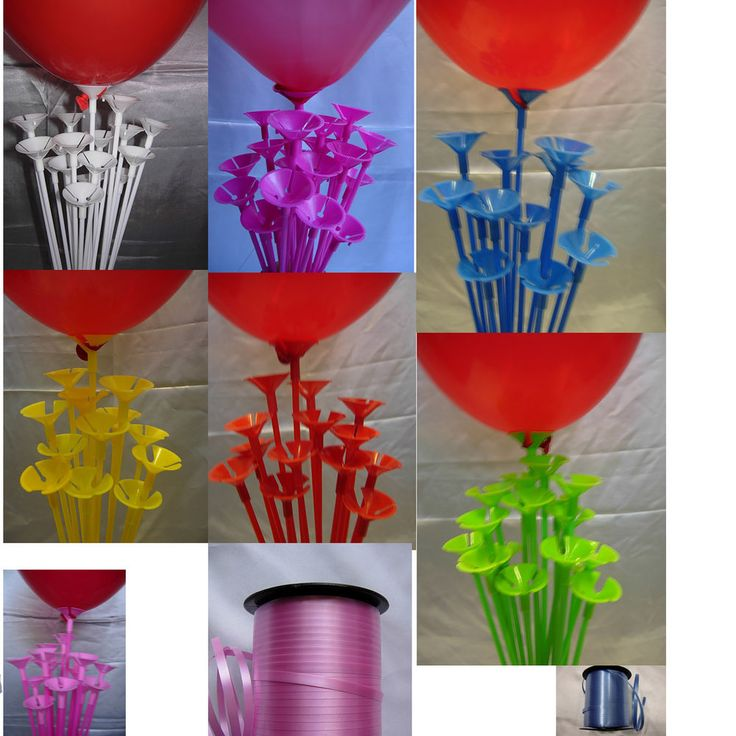 Top 25 ideas about no helium balloons on pinterest for Balloon decoration ideas no helium