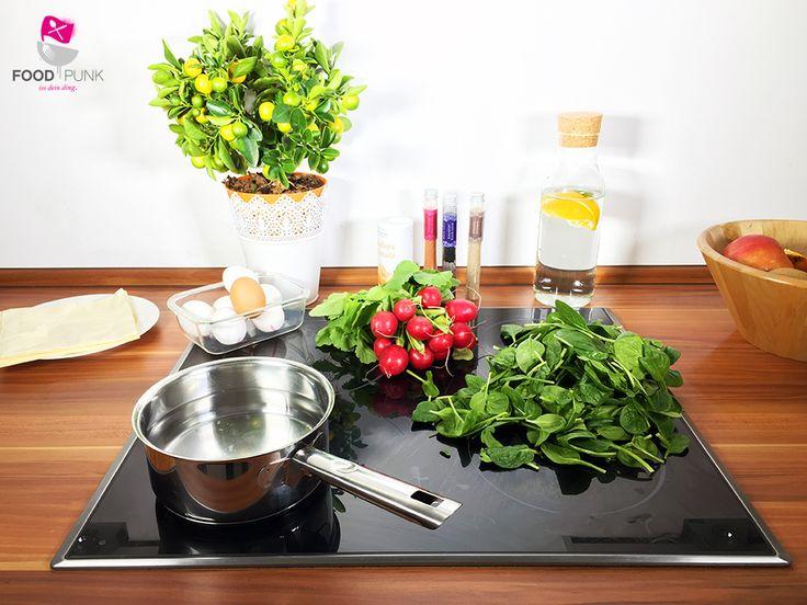 die besten 25 pochierte eier ideen auf pinterest gesunde ei rezepte gesundes eierfr hst ck. Black Bedroom Furniture Sets. Home Design Ideas
