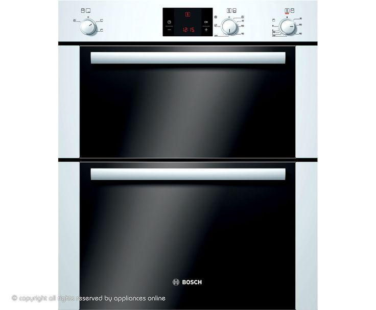Bosch Classixx HBN13B221B Built Under Double Oven - White