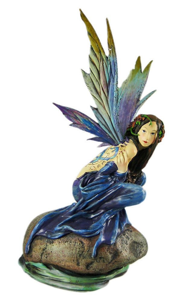 Alchemy Gothic Sylundine Elemental Fairy Statue Random Beauty Pinterest Fairy Statues And