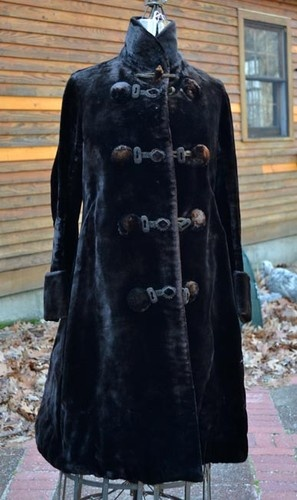 Victorian Costume Antique Womens Coat Gi...
