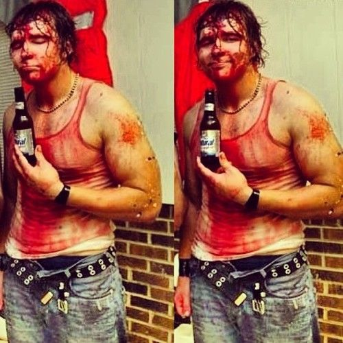 Jon Moxley, he is a mess, but still love him.