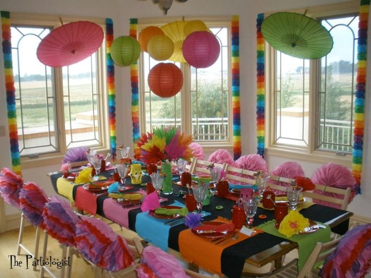 35 Mexican Table Decorations Ideas. Mexican FiestaGarden PartiesOutdoor ... & The 49 best Table Decoration Ideas images on Pinterest | Dinner ...