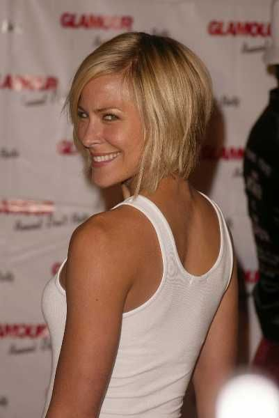 This is a better shot of Brittany Daniel's short hair. Maybe I should do this instead of Hayden Panettiere's bob version. Hairstyles Gallery - HairBoutique.com Image 17950