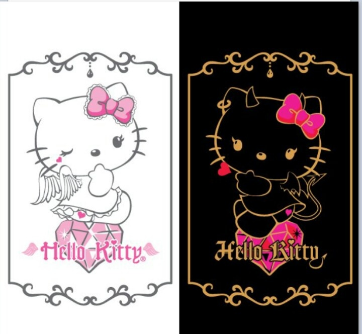 devil hello kitty wallpaper - photo #16
