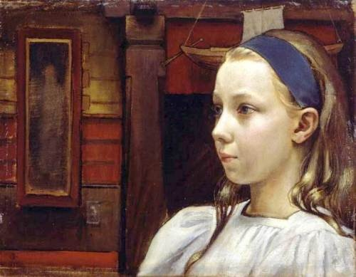 little-anne by Akseli Gallen-Kallela