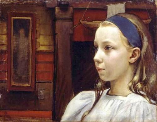 little-anne by Akseli Gallen-Kallela