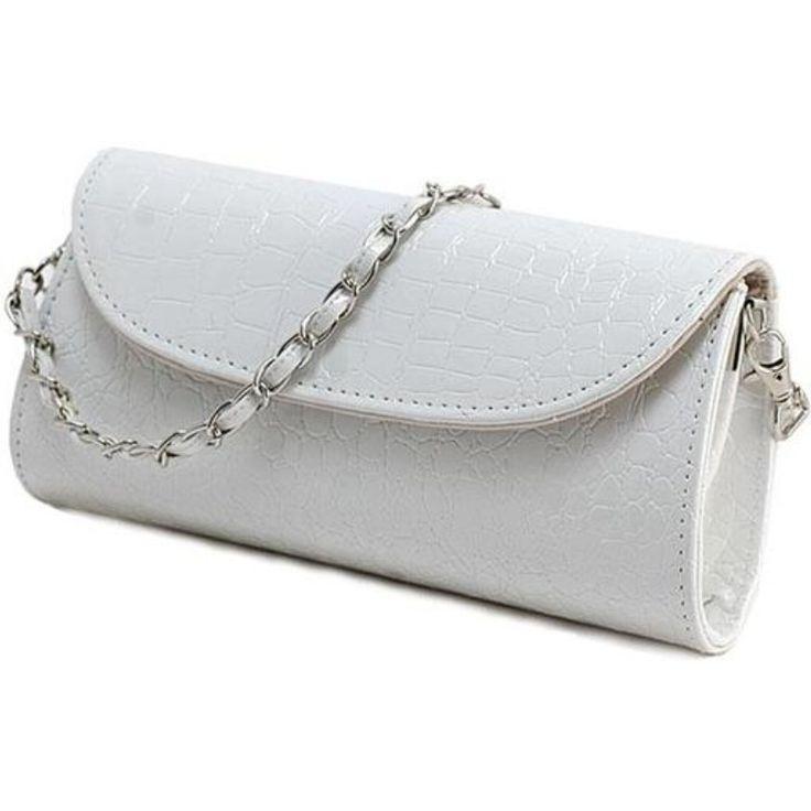 Crocodile Leather Evening Bag //Price: $14.94 & FREE Shipping // #handbag #awesome #bagsdesigns