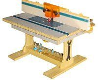 Router Table Front View