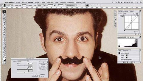 Id e cadeau le miroir photoshop john 39 s graphisme for Image miroir photoshop