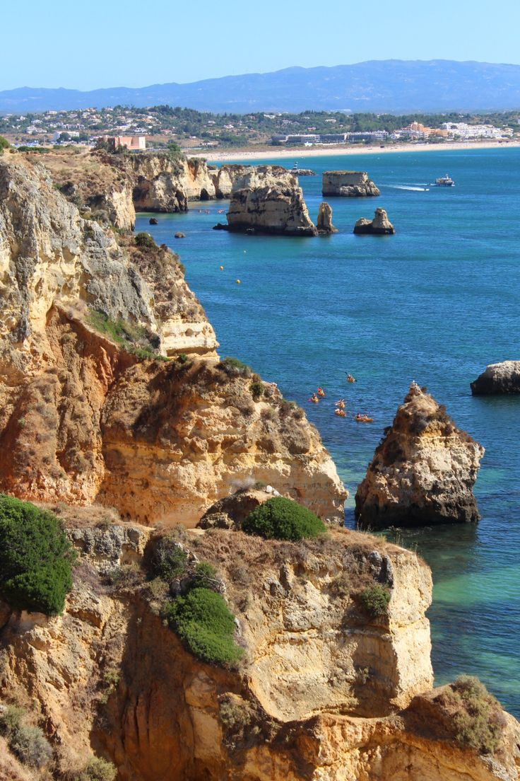 View the caves along the coast by sea kayaking suitable for all ages and · the cavealgarvebeach resortscavesportugalsun kissedspabeacheskayaking