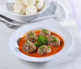 Recept Masové kuličky v rajské omáčce od Vorwerk vývoj receptů - Recept z kategorie Hlavní jídla - maso