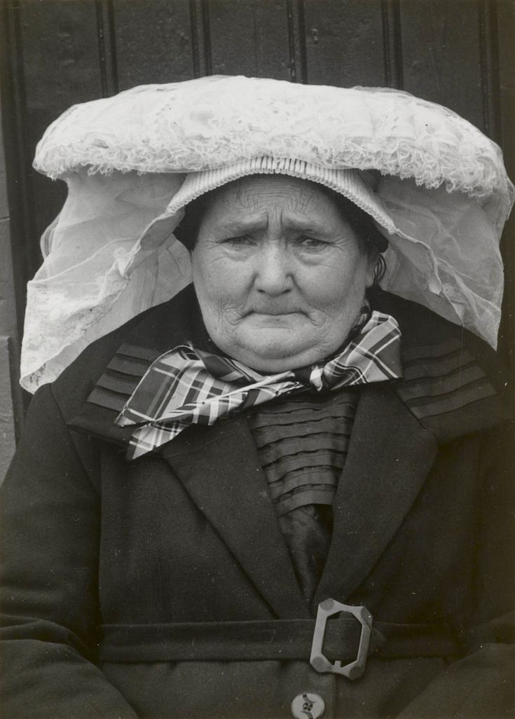 Woman in folk dress from Nuland (Province of Brabant), The Netherlands.