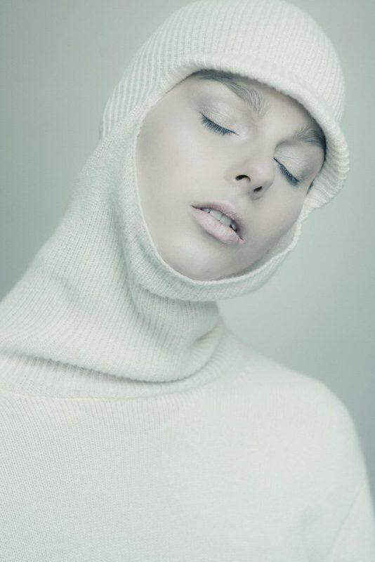 OTHER WORLDLY SAVERIO PALATELLA FW17 Antarctic sky mask sweater