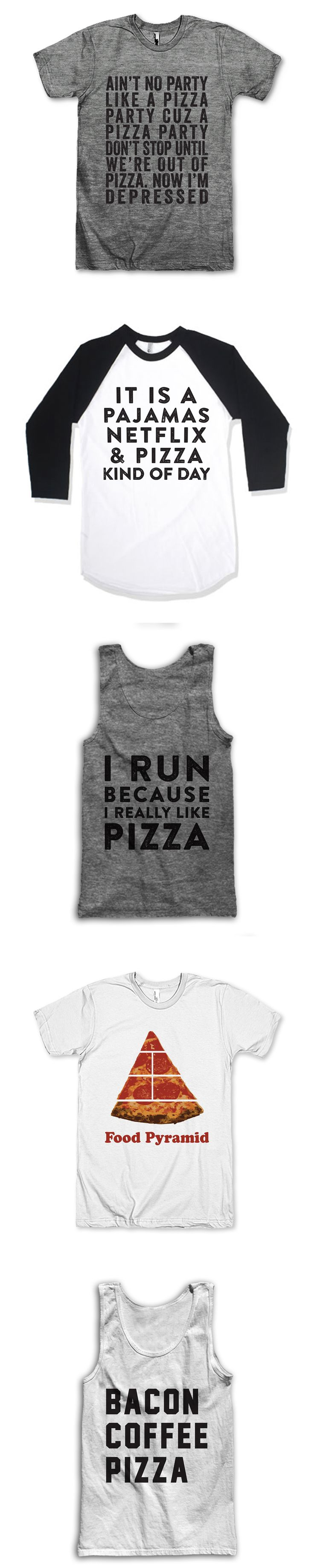 If you love 'Za we've got your back, search through tons of funny Pizza shirts, grab a Coffee inspired tank top, or find something that professes your never ending love for all things nap related. We've got gifts for mom, dad or your best friend. At Awesome Best Friends Tees we've got Tank Tops and T Shirts for everyone!