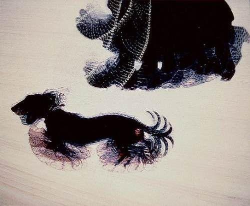 Giacomo Balla - Dinamismo di un cane al guinzaglio