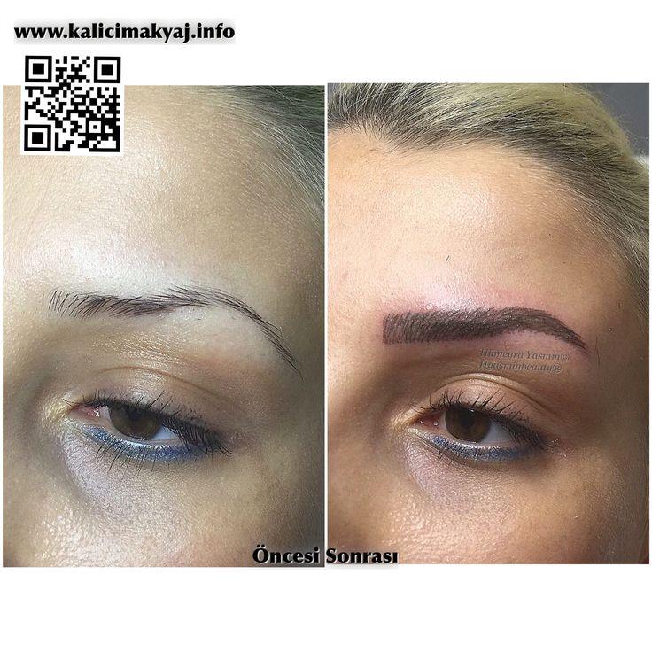 Kalıcı Makyaj Kaş Konturu Kıl Tekniği Uygulamamız Hyasminbeauty Kartal /İstanbul 02164885152 Whatsapp 05530203502