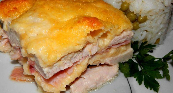Rakott csirkemell recept   APRÓSÉF.HU - receptek képekkel