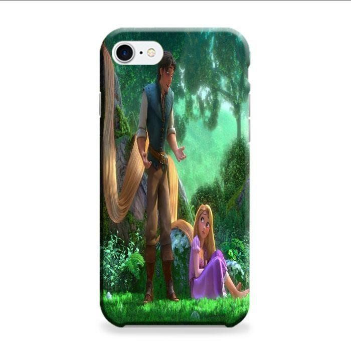Tangled Cartoon Rapunzel iPhone 7 3D Case