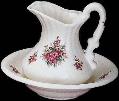 1000 images about pitcher and bowl sets on pinterest blue roses pink roses and pottery. Black Bedroom Furniture Sets. Home Design Ideas