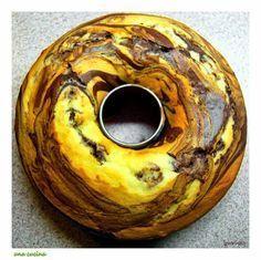 Το κέικ της Δευτέρας: Αφράτο τρυφερό και δίχρωμο!   una cucina
