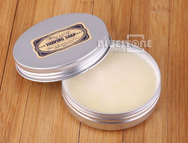 Men's Long Lasting High Lather Shaving Goat's Milk Soap