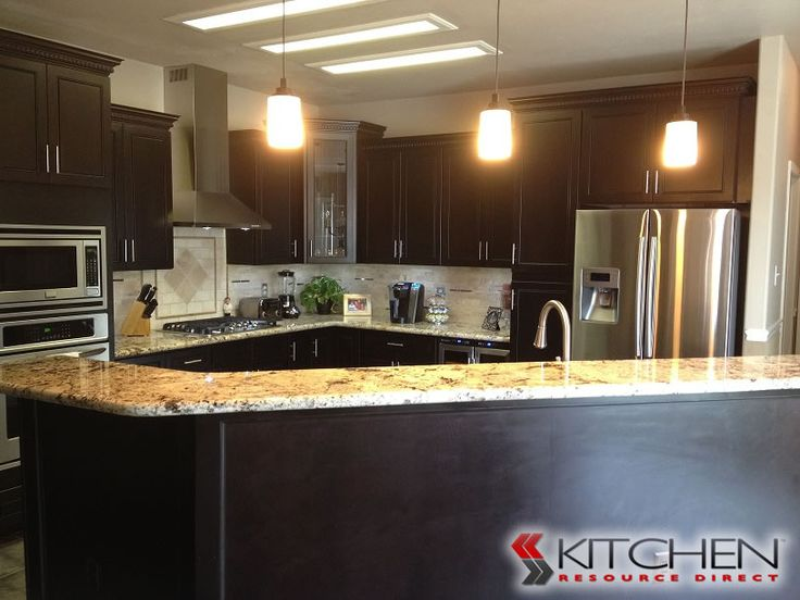 Beautiful Trenton Maple Espresso Photo Gallery | Cabinets.com By Kitchen Resource  Direct