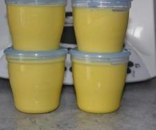 Rezept Kartoffel-Lachsfiletbrei mit Buttergemüse,Brokkoli & Blumenkohl ( Ab 7. Monat ) von Cindy86 - Rezept der Kategorie Baby-Beikost/Breie