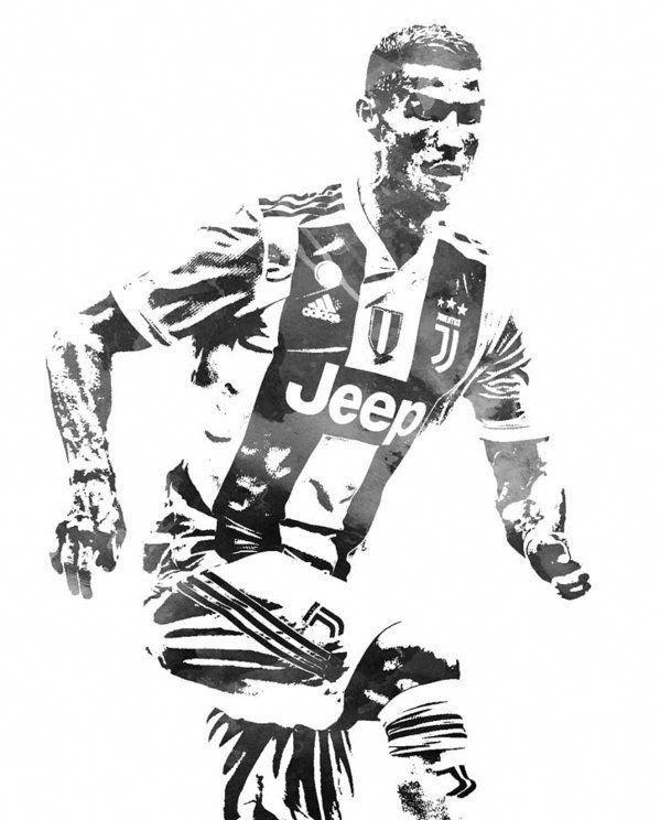 Cristiano Ronaldo Juventus Water Color Pixel Art 4 Art Print By Joe Hamilton In 2021 Cristiano Ronaldo Juventus Ronaldo Juventus Cristiano Ronaldo Latest juventus room paint color