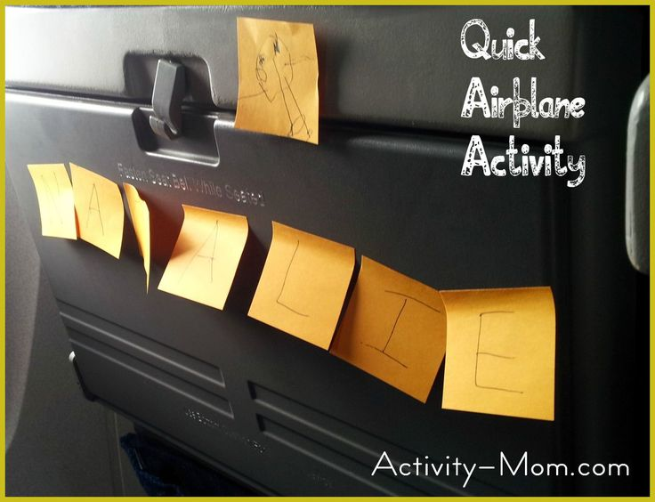 The Activity Mom: Airplane Game