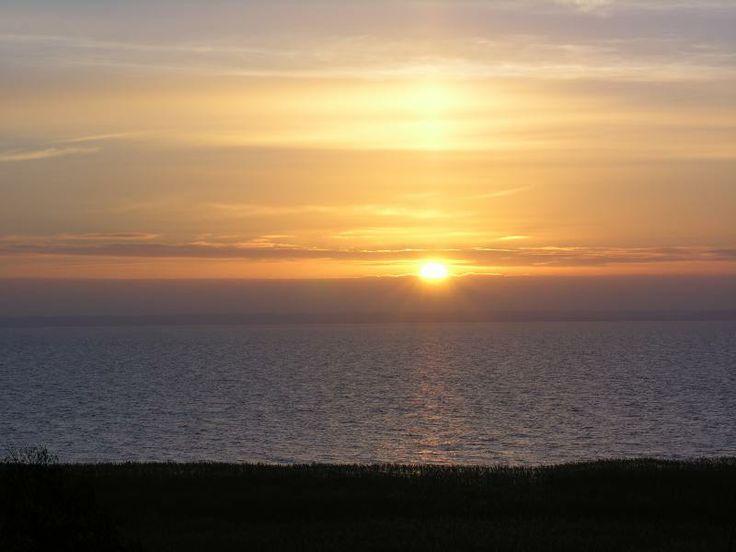 zachód słońca http://www.krynicamorska.pw