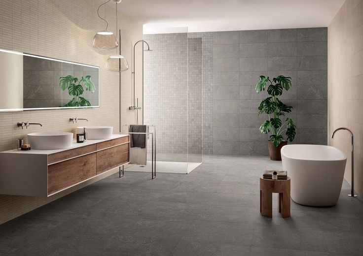 Bathroom cladding height: solutions and ideas