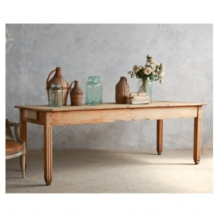 antique farm table in light natural - Farm Tables For Sale