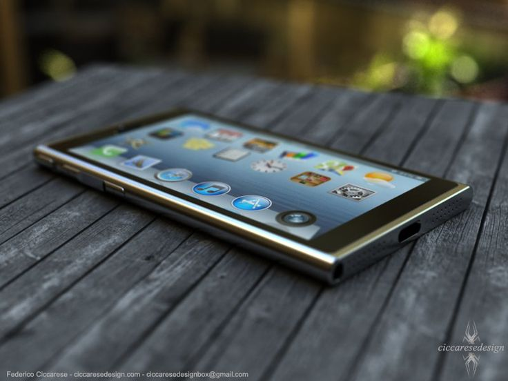 iPhone 6 Concept Surfaces On The Web – Looks Like Current Gen iPod Nano