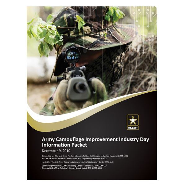 U S Army Camouflage Presentation Folder Front View Usarmy Armyofone