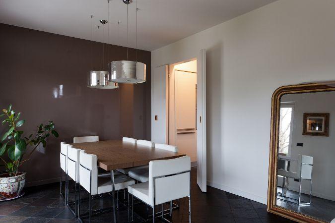#interior #diningroom #modern #contrast