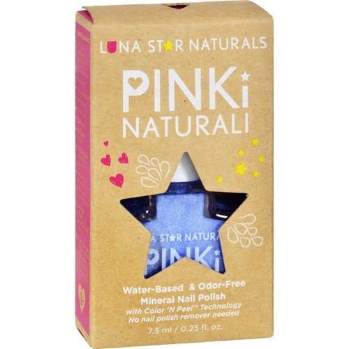 Lunastar Pinki Naturali Nail Polish - Little Rock (powder Blue) - .25 Fl Oz