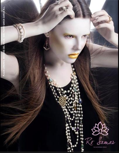 Shooting campaign Ro Samar jewelry  photographer: Fernando Ivarra