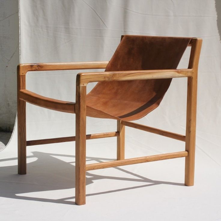 Image of The SLING chair in Tan