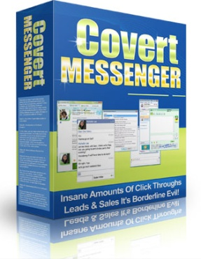 Covert Messenger is about 1000 times better than any Banner Ad.