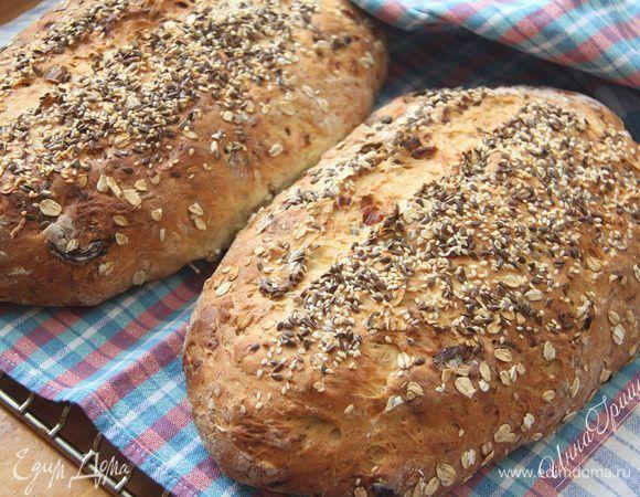 Творожный хлеб. Ингредиенты: мука, творог 5%, овсяные хлопья | Официальный сайт кулинарных рецептов Юлии Высоцкой