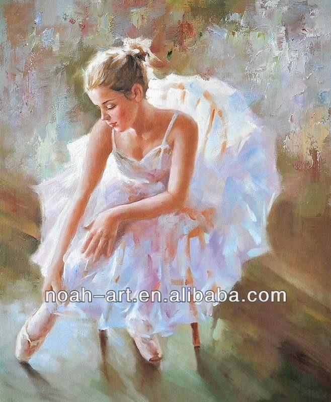 100% handmad ballet meisje schilderij-afbeelding-Schilderen& kalligrafie-product-ID:1563673185-dutch.alibaba.com