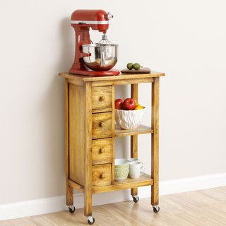 Exceptional Aptik Handmade Kitchen Utility Cart (Indonesia) By Bima