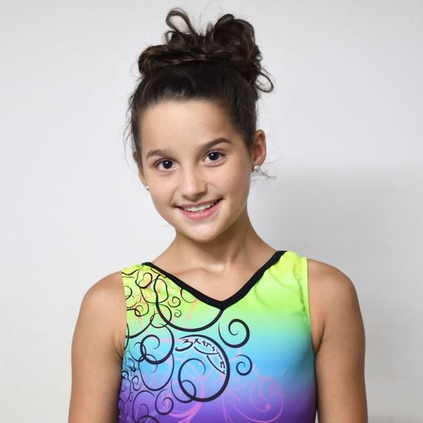 Bratayley - Rainbow Leotard & Grip Bag