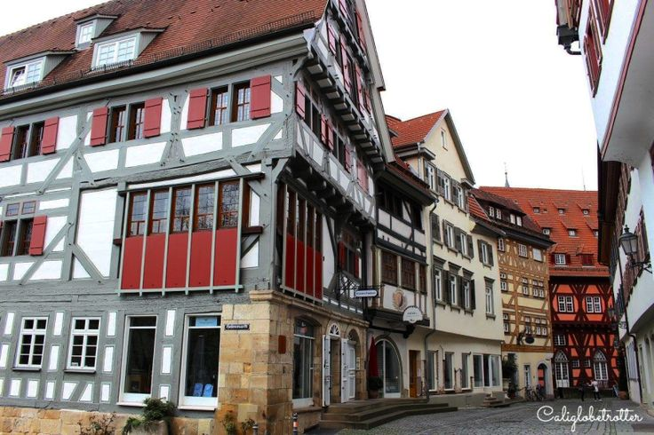 Oldest half-timbered houses in Germany! - Esslingen, Germany - California Globetrotter