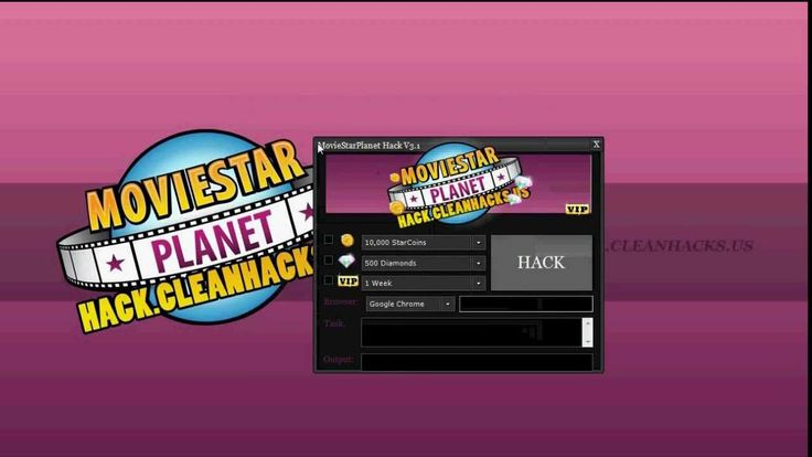 MovieStarPlanet Hack [Hacker Tool] VIP, Diamonds, and StarCoins Free and...