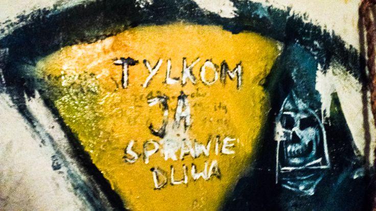ściana mojego kumpla G.  sam namalował :P