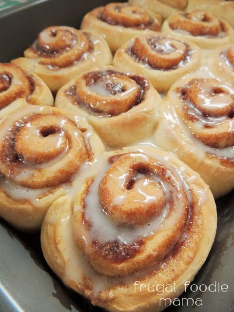 French Vanilla Chai Cinnamon Rolls- these amazing, foolproof cinnamon rolls start with a cake mix.