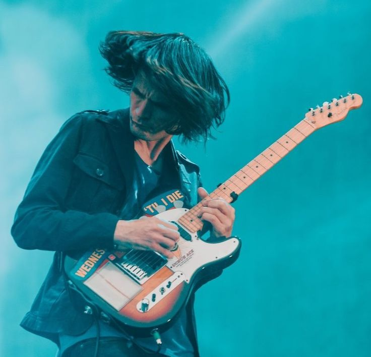 Jonny Greenwood - #Radiohead - Emirates Old Trafford on July 4, 2017 in Manchester, England By Lewis Evans